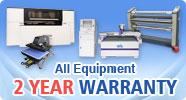 All Equipments 2 YEAR Warranty