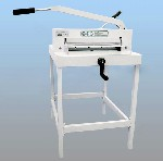 Electric guillotine paper cutter