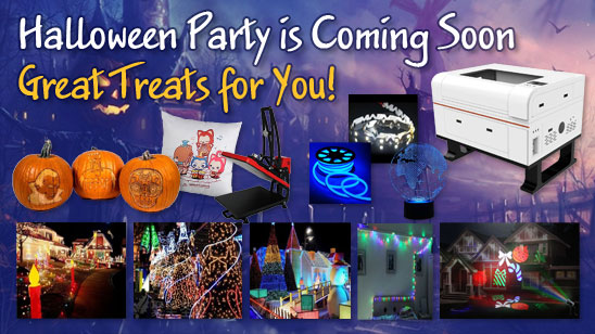 Halloween Party is Coming Soon, Great Treats for You!