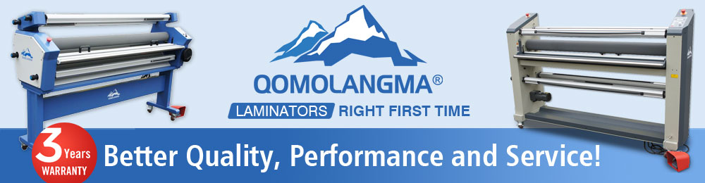 Qomolangma Laminator, Best Partner for Your Image Finishing Business!