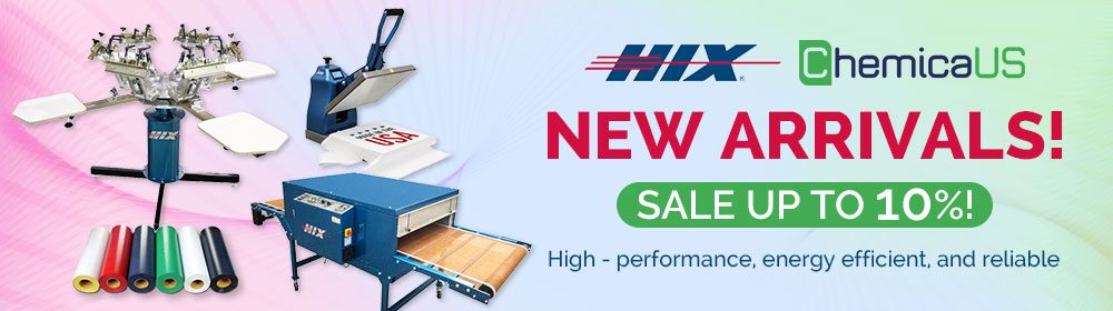 New Arrivals, Hix and Chemica Products