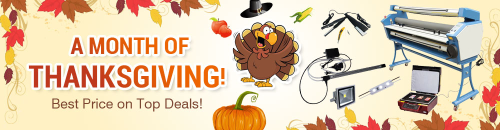 A Month of Thanksgiving! Best Price on Top Deals!