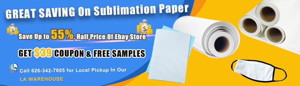 Buying Sublimation and Heat Transferring Products With Local Pickups