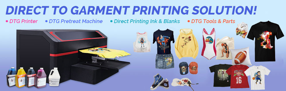 Direct to Garment Printing Solution!
