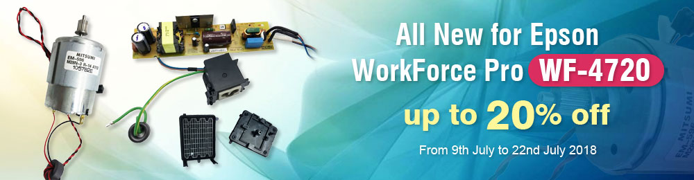 All New for Epson WorkForce Pro WF-4720