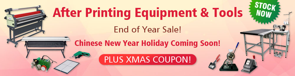 Full Range of Advertising Cutting and Finishing Equipment and Tools, Good Helper for Your Business!