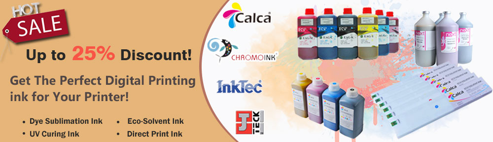 We supply the quality digital printing ink