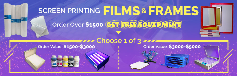 Order Over $1500 Get Free Equipment