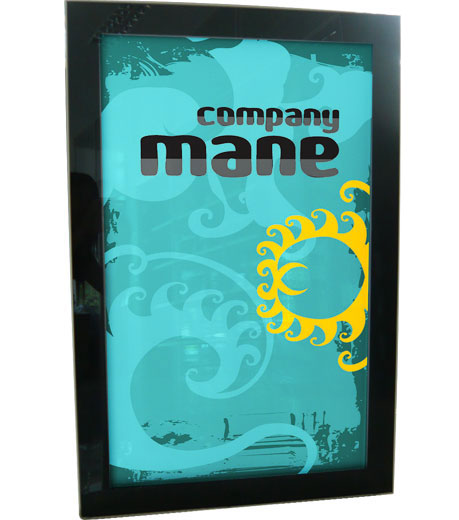 """21.3"""" x 33.5"""" Double-side Outdoor Waterproof Advertising LED Light Box (Without Printing)"""