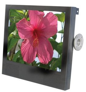 17 inch LCD Advertising Player with Back Hitch Fixing Structure