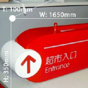 Directional signboard 001