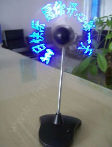 USB Desktop LED Message Fan--168-9