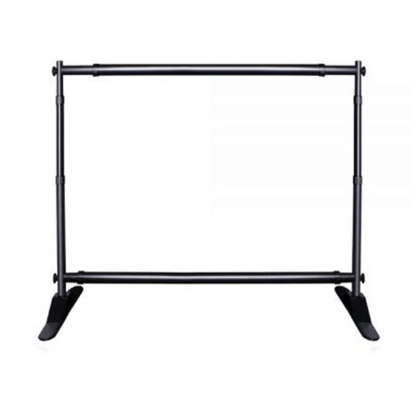 8x10ft Step And Repeat Adjustable Backdrop Telescopic