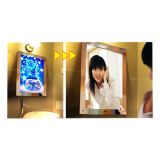 A1 Size LED Lighting Acrylic Magic Mirror Light Box