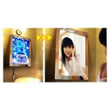 A3 Size LED Lighting Acrylic Magic Mirror Light Box