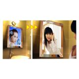 A4 Size LED Lighting Acrylic Magic Mirror Light Box
