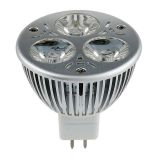 3W 3 x 1W MR16 LED Ceiling Spotlight Bulb