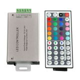 DC 12V 24A 288W RGB 44 Key IR Remote Controller LED SMD 5050 3528 Strip Light