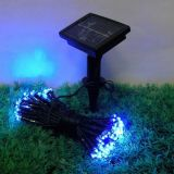 12M 100 LEDS Solar Energy LED Fairy Light String Garden Xmas Party Decor Lamp
