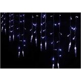 5M 224 LED Twinkling Icicle Snowfall Fairy String Light Indoor Outdoor Christmas