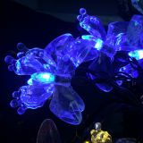 Solar 20 LED Butterfly&Dragonfly String Fairy Light Party Christmas Garden