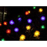 Solar Powered Fairy String Lights Wedding Party Xmas Waxberry Shaped Lamp