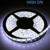 High CRI Super Brightness White Light 5M Waterproof IP65 300 LED Strip Light 2835 SMD String Ribbon Tape Roll 12VDC