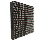 "Outdoor LED Display P10 Medium 16x16 RGB LED Matrix Panel(6.3"" x 6.3"" x 0.5"")"