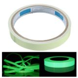 "1"" x 30ft Printable Sticky Tape Self Adhesive Luminous Safety Film Sticker Roll, 10 Hours Glow In the Dark"