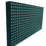 Outdoor Double Colors LED Display P10 Dot Matrix Module Double Colors Sign 16 x 32cm