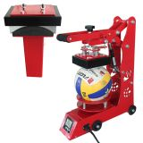 Ball and Cap 2IN1 Heat Press Machine Combo Heat Transfer Machine for Volleyballs, Footballs, Caps