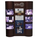 ECO Custom Graphics Paper Screen Banner of Both Side Right and Left with Light Box for Display