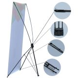 """(47.24"""" X 78.74"""") Economy Aluminum Foot X Banner Stand"""