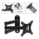 "Tilt Swivel Flat LED LCD TV Wall Mount Bracket(apply to 14-24"")"