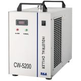 S&A CW-5202BH Industrial Water Chiller for 8KW Spindle / Welding Equipment / One 130-150W CO2 Glass Laser Tube / 2 100W CO2 Laser Tubes Cooling, AC 1P 220V, 60Hz