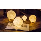 3D Moon Lamp USB LED Night Light Moonlight Gift Swat Sensor Color Changing  10cm