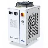 S&A CW-FL-500DN Industrial Water Chiller for Cooling 500W Fiber Laser, 1.09HP, AC 1P 110V,60Hz