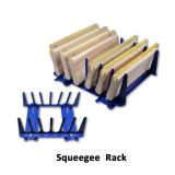 Screen Printing Squeegee Rack 6 Layers Scraper Holder Destop Setting Tools Rack
