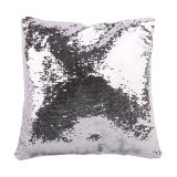 Australia Stock-Square Blank Reversible Sequin Magic Swipe Pillow Cover Cushion Case for Sublimation