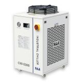 S&A CW-5300AH Industrial Water Chiller (AC 1P 220V 50Hz) for a Single 150W CO2 Glass Laser Tube Cooling, 1.09HP