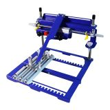 "7.9"" x 5.9"" Manual Cylinder Curved Screen Printing Press for Cup / Mug / Bottle (Diameter:6.7"")"