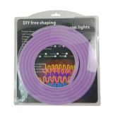 LED Flexible Neon Light Set 3M, 12VDC, 1CM Cut, 8 x 17mm