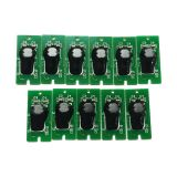 Generic One-Time Chip for Epson SureColor P9000(for EUR);11pcs/set(C M Y K LC LM LK MK LLK OR GR)