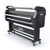US Stock 67in Wide Format Full-auto Roll-to-roll Electric Type Cold Laminator, with Heat Assisted