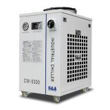 S&A CW-5300DI Industrial Water Chiller (AC 1P 110V 60HZ) for 1 x 200W CO2 laser, 100W Laser Diode, 75W Solid-state Laser, 18KW CNC Spindle