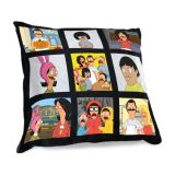 "US Stock-15.75"" x 15.75"" Sublimation Short Plush Photo Panel Pillow Covers with Black Back 10pcs"