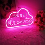 CALCA LED SWEET Dream  Neon Sign, Size- 12.2 X 7.87inches