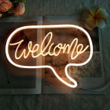 CALCA LED welcome Neon Sign, Size- 12.2 X 8.85inches