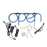 CALCA OPEN Business Sign Neon Lamp Integrative Ultra Bright LED Store Shop Advertising Lamp (Blue)