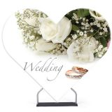7 x 8 FT Heart Shaped Display Stand(Graphic Only)